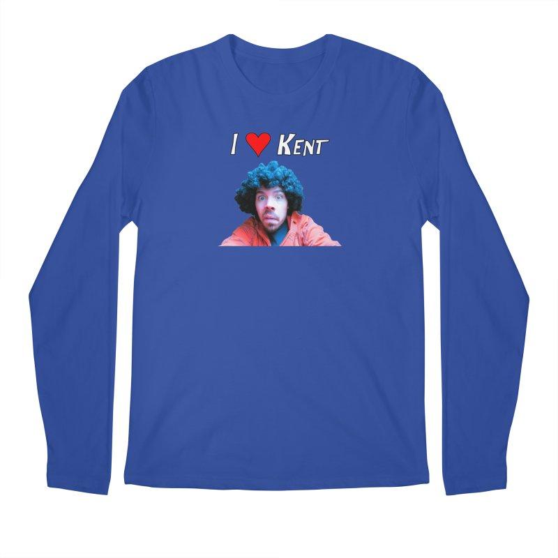 I Love Kent Men's Longsleeve T-Shirt by Vegetable Police