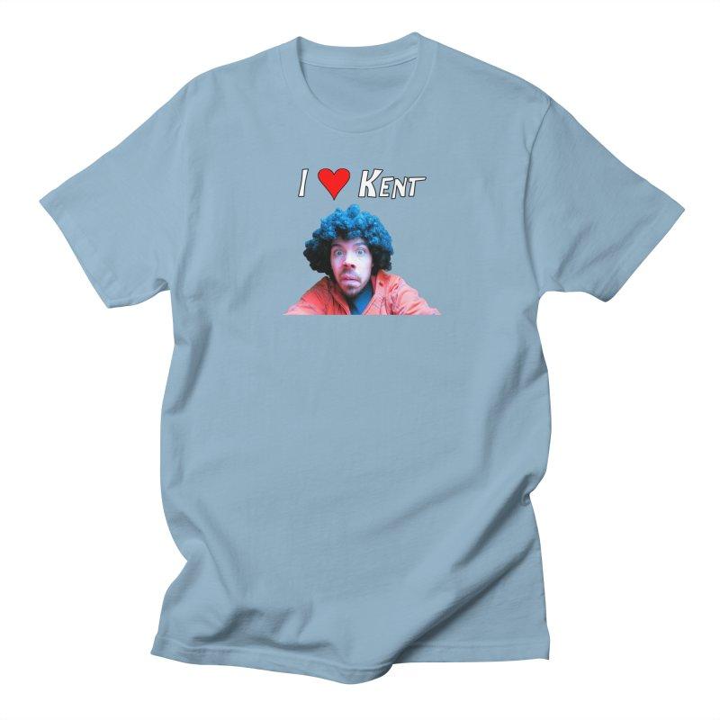 I Love Kent Men's Regular T-Shirt by Vegetable Police