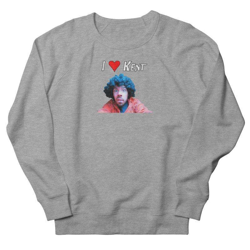 I Love Kent Men's French Terry Sweatshirt by Vegetable Police