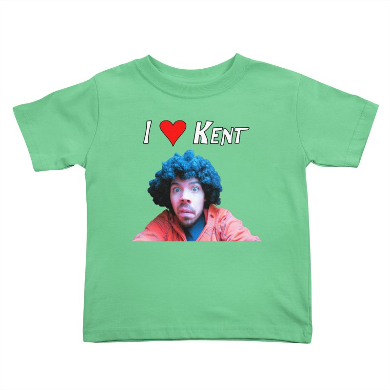 I Love Kent Kids Toddler T-Shirt by Vegetable Police