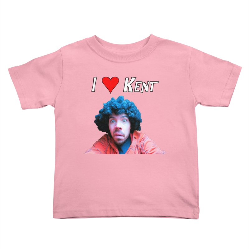 I Love Kent Kids Toddler T-Shirt by Vegetable Police