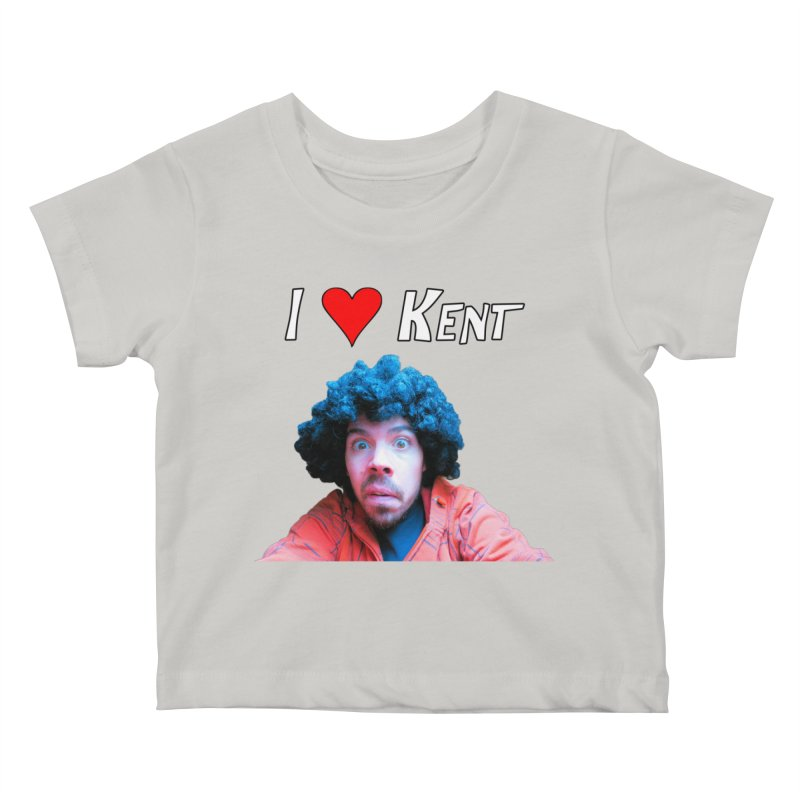 I Love Kent Kids Baby T-Shirt by Vegetable Police