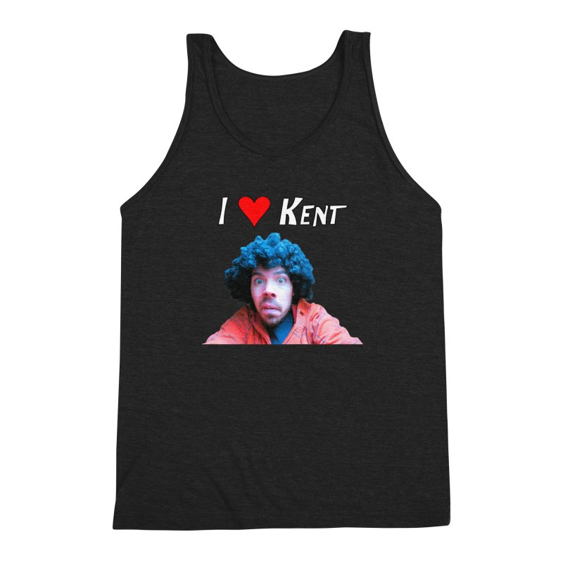I Love Kent Men's Tank by Vegetable Conspiracies