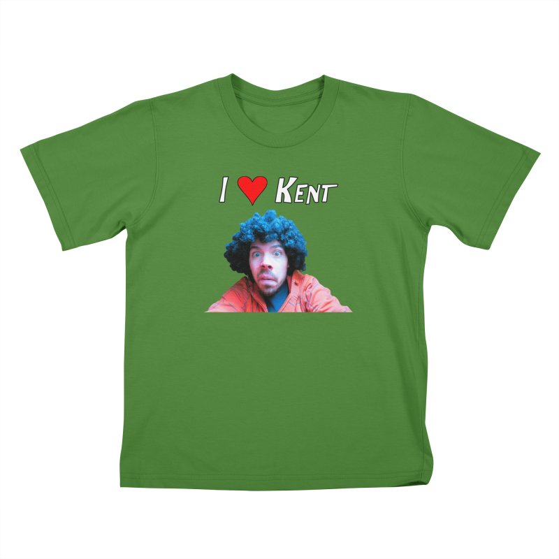 I Love Kent Kids T-Shirt by Vegetable Police