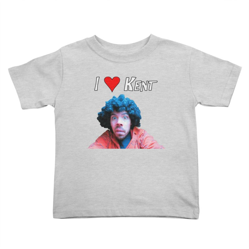 I Love Kent Kids Toddler T-Shirt by Vegetable Conspiracies