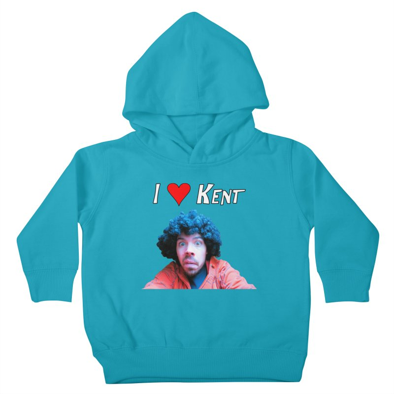 I Love Kent Kids Toddler Pullover Hoody by Vegetable Police