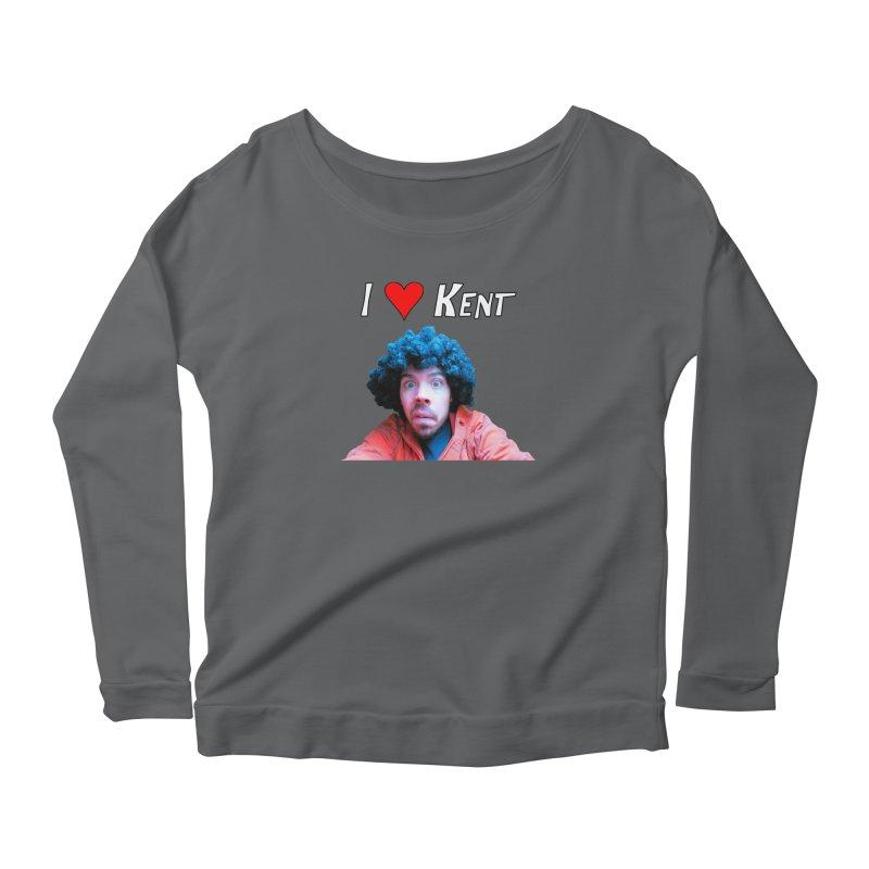 I Love Kent Women's Longsleeve T-Shirt by Vegetable Police