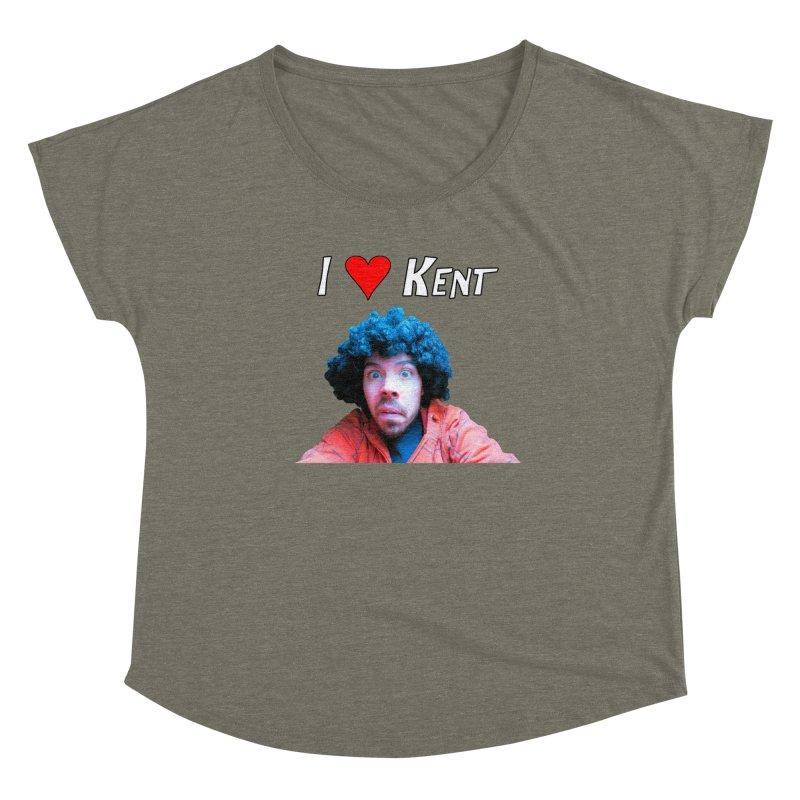 I Love Kent Women's Scoop Neck by Vegetable Conspiracies