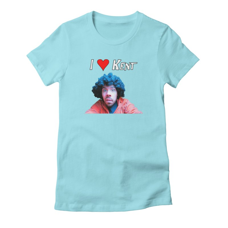 I Love Kent Women's T-Shirt by Vegetable Conspiracies