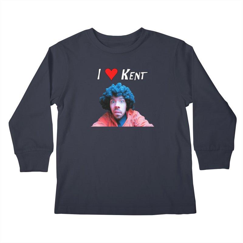 I Love Kent Kids Longsleeve T-Shirt by Vegetable Police