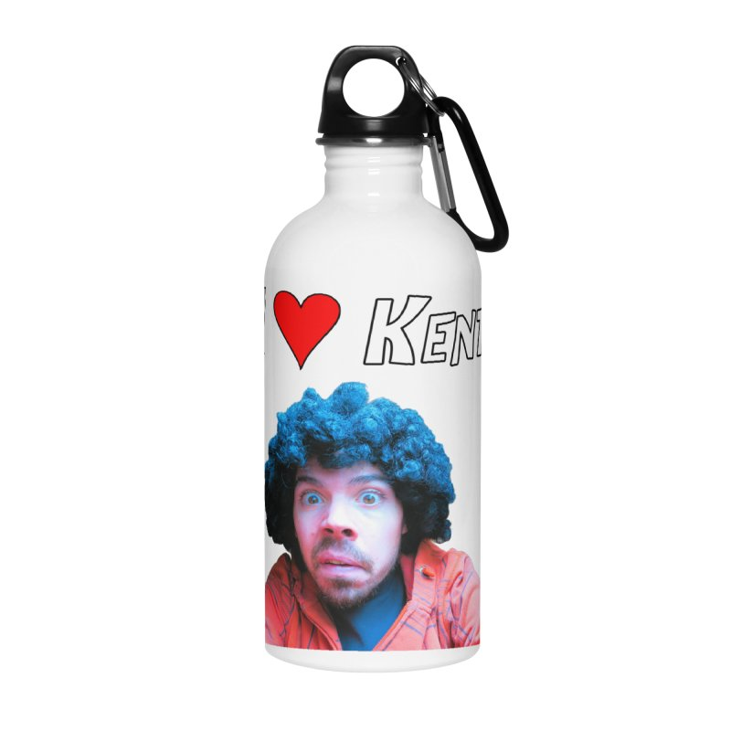 I Love Kent Accessories Water Bottle by Vegetable Police