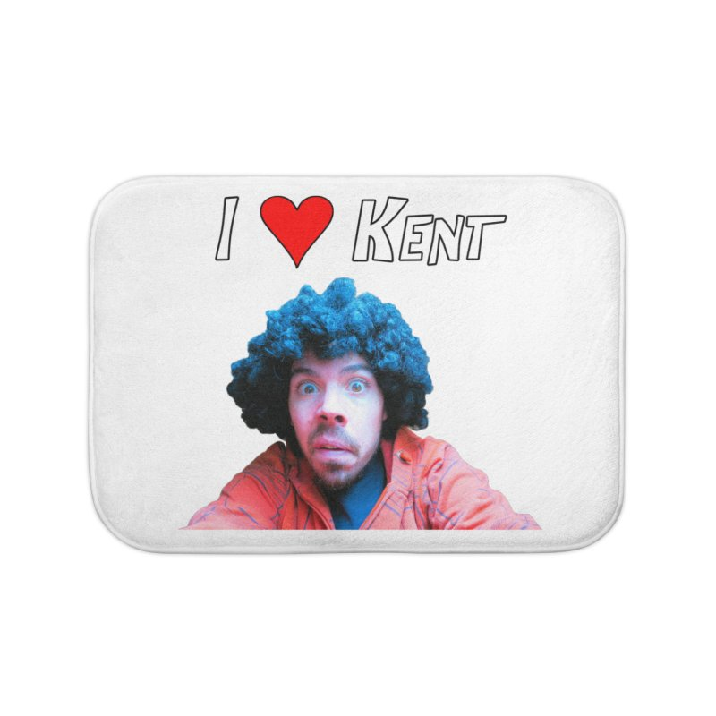I Love Kent Home Bath Mat by Vegetable Police