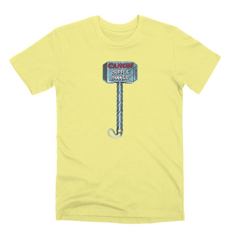 Canon Cripple Hammer Men's Premium T-Shirt by Vegetable Police