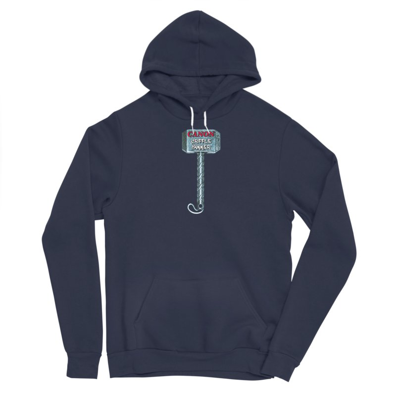 Canon Cripple Hammer Men's Pullover Hoody by Vegetable Conspiracies
