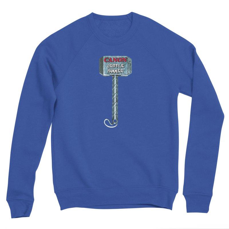 Canon Cripple Hammer Women's Sweatshirt by Vegetable Police