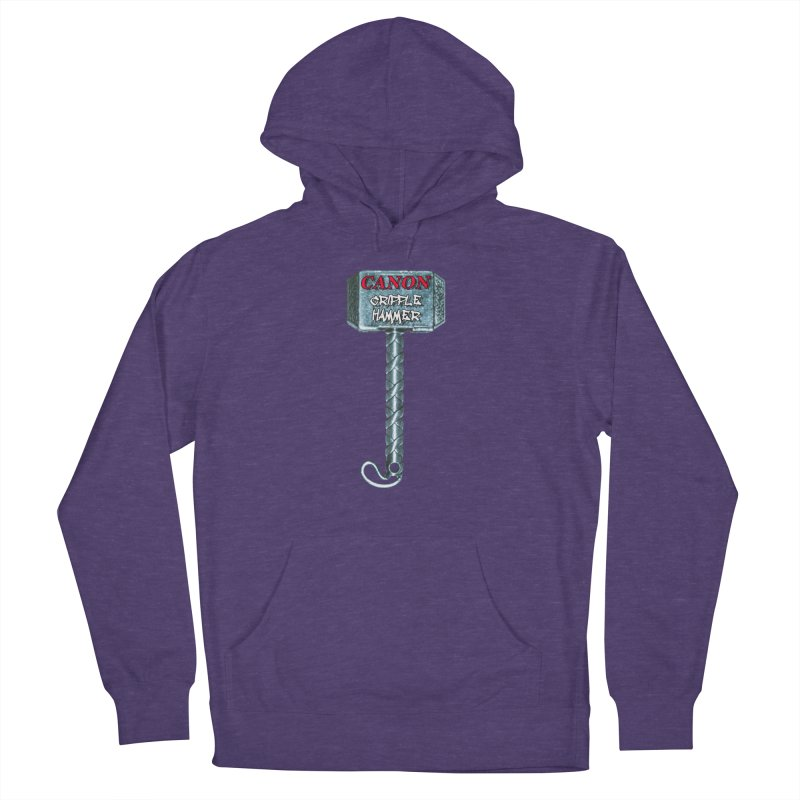 Canon Cripple Hammer Men's French Terry Pullover Hoody by Vegetable Police