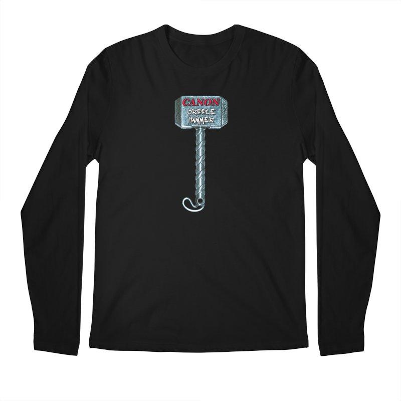 Canon Cripple Hammer Men's Regular Longsleeve T-Shirt by Vegetable Police