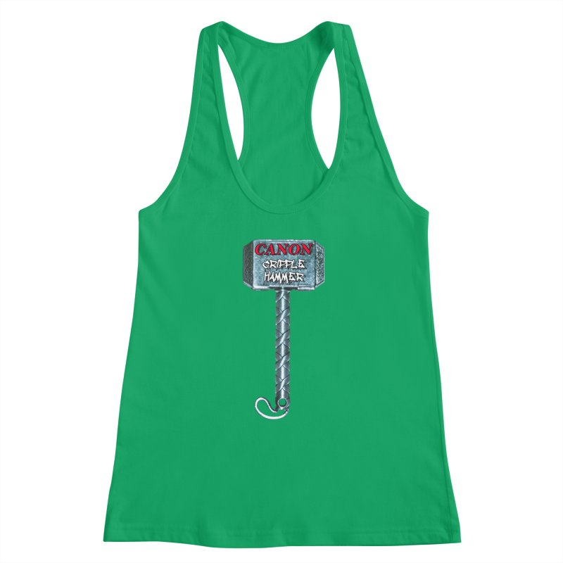 Canon Cripple Hammer Women's Tank by Vegetable Conspiracies