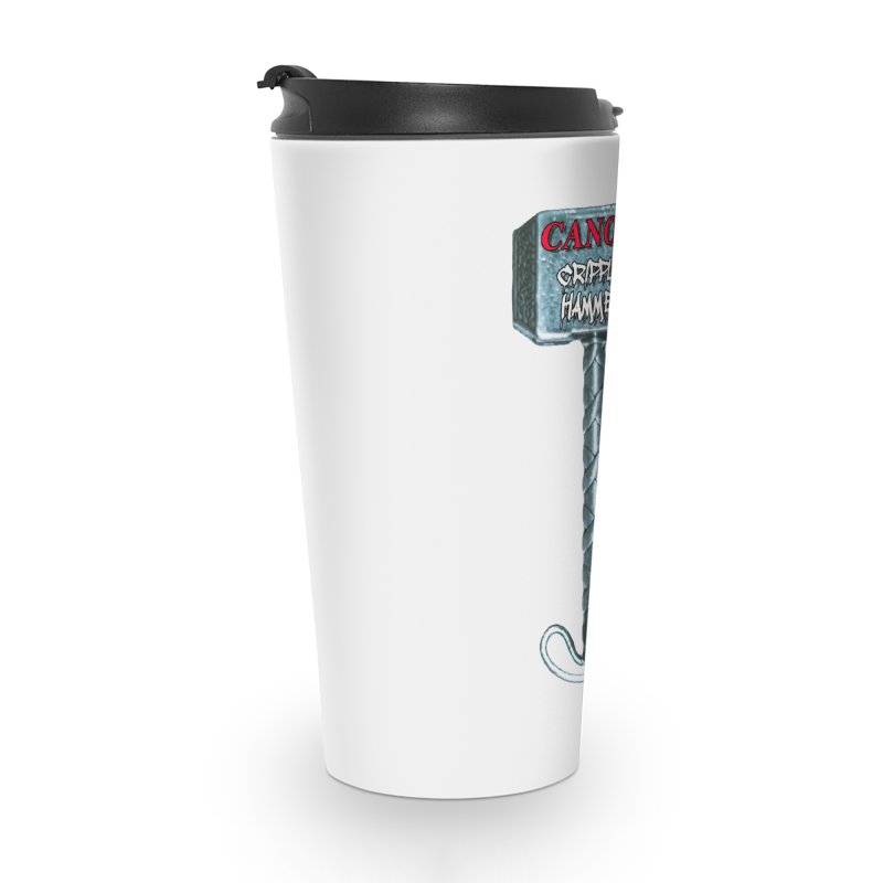 Canon Cripple Hammer Accessories Travel Mug by Vegetable Police