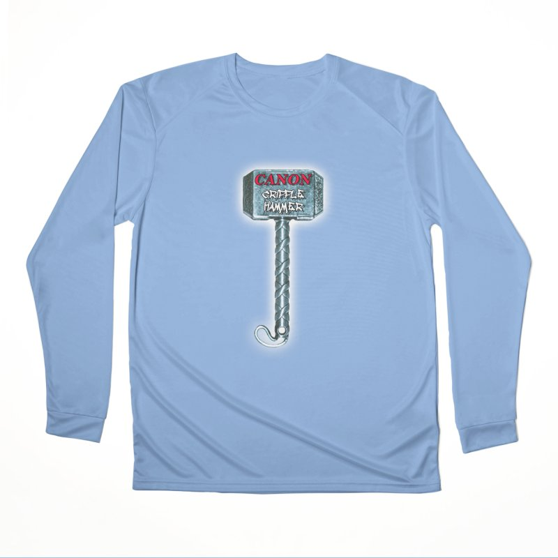 Canon Cripple Hammer (Glowing) Men's Performance Longsleeve T-Shirt by Vegetable Police