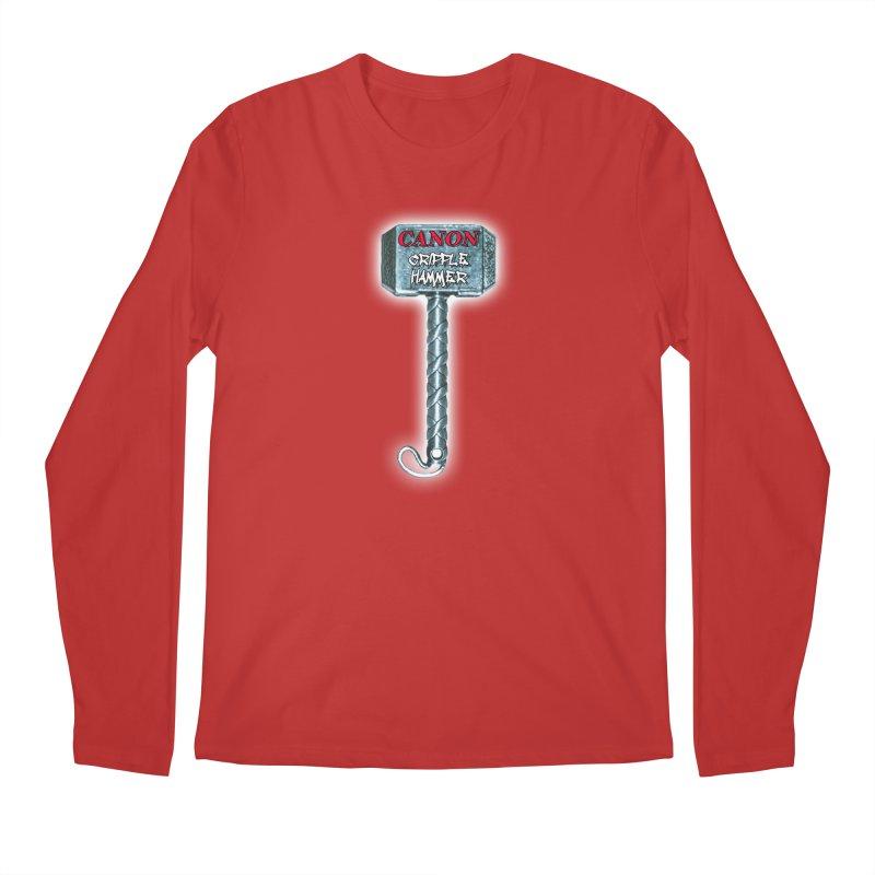 Canon Cripple Hammer (Glowing) Men's Regular Longsleeve T-Shirt by Vegetable Police