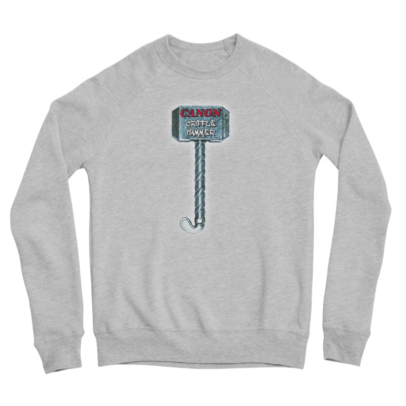Canon Cripple Hammer (Glowing) Women's Sweatshirt by Vegetable Conspiracies