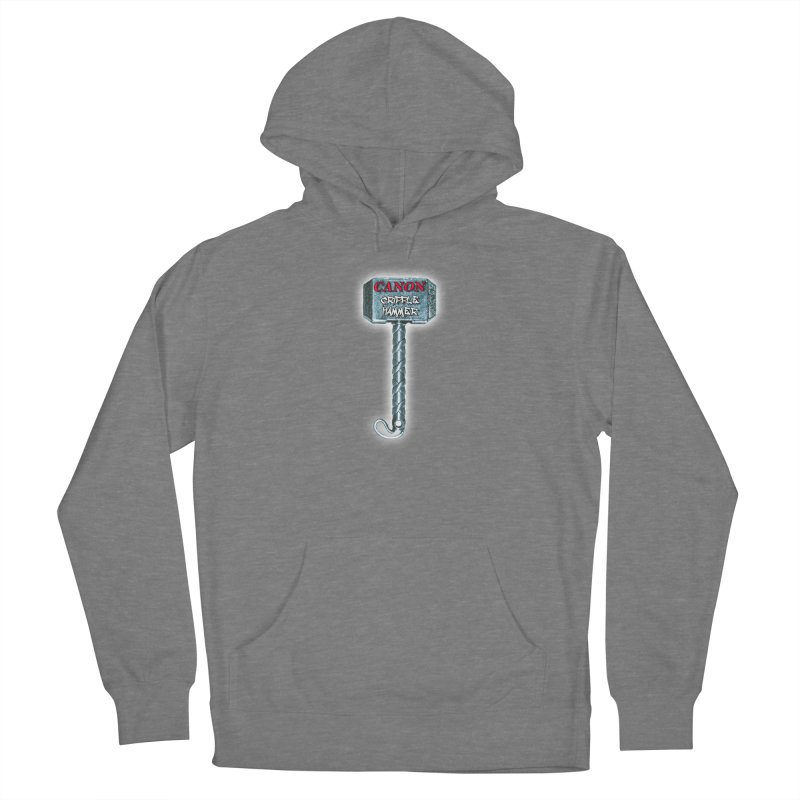 Canon Cripple Hammer (Glowing) Women's Pullover Hoody by Vegetable Conspiracies