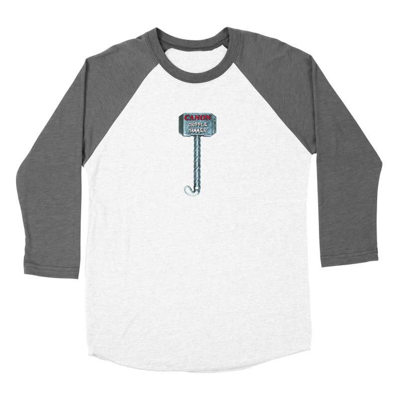 Canon Cripple Hammer (Glowing) Women's Longsleeve T-Shirt by Vegetable Conspiracies