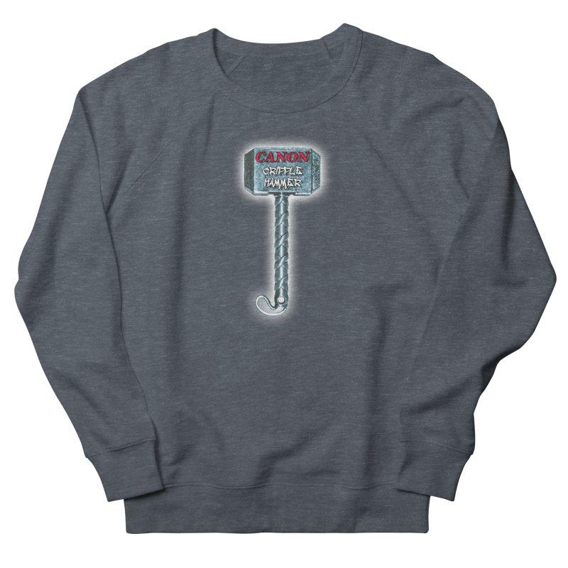 Canon Cripple Hammer (Glowing) Men's Sweatshirt by Vegetable Conspiracies