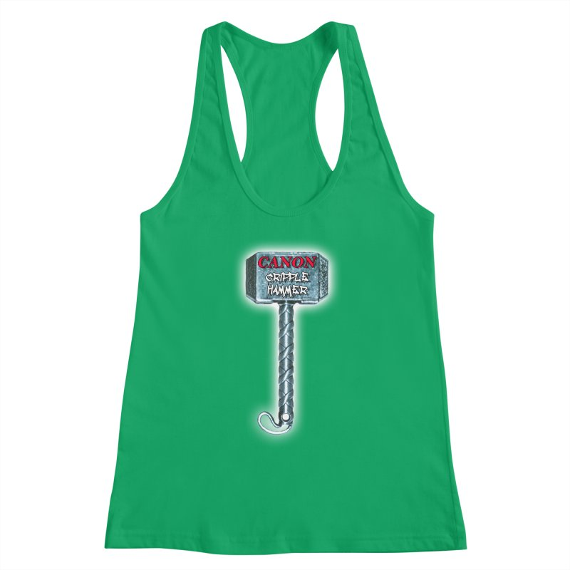Canon Cripple Hammer (Glowing) Women's Tank by Vegetable Conspiracies
