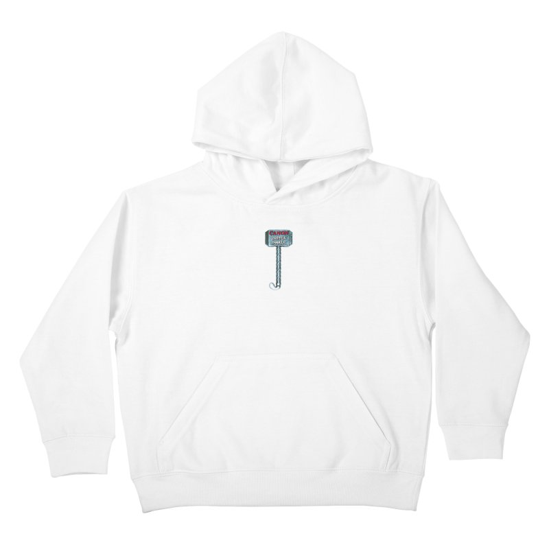 Canon Cripple Hammer (Glowing) Kids Pullover Hoody by Vegetable Police