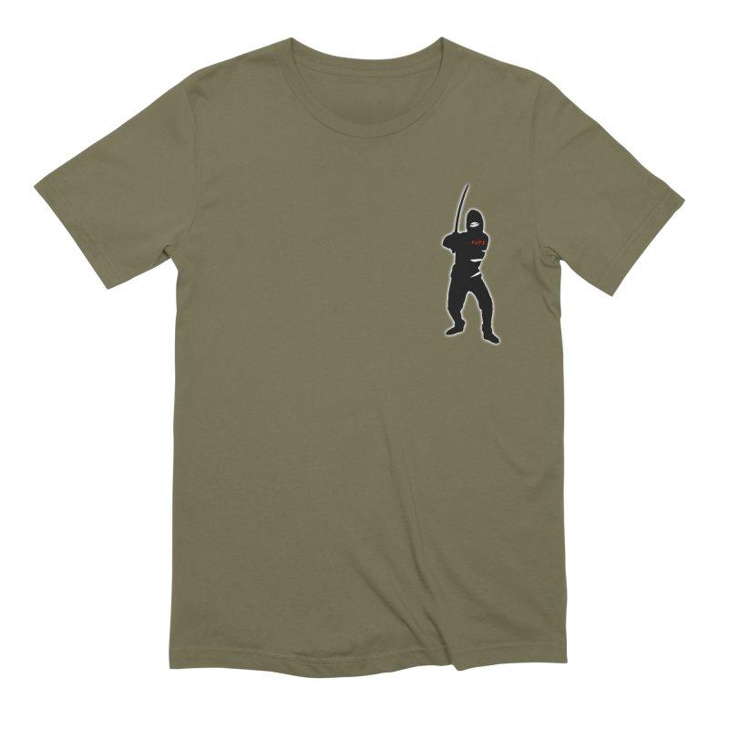 Fuji Assassin Men's T-Shirt by Vegetable Conspiracies