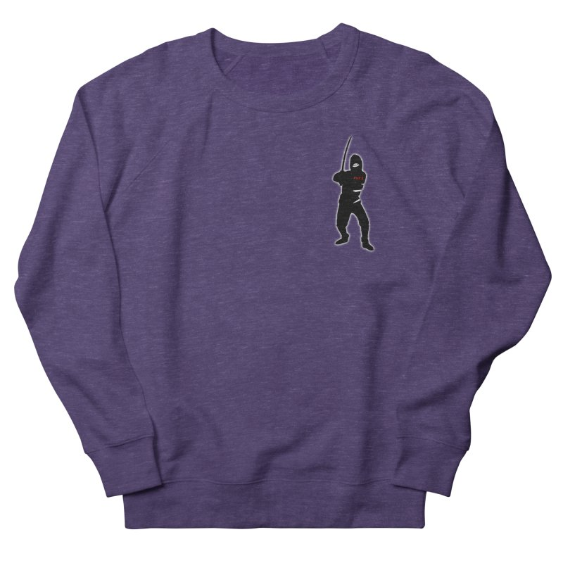 Fuji Assassin Men's French Terry Sweatshirt by Vegetable Police