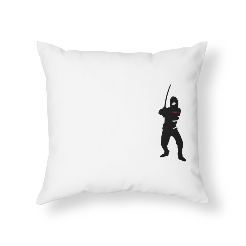 Fuji Assassin Home Throw Pillow by Vegetable Police