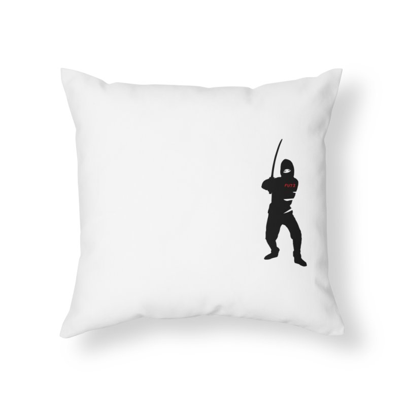 Fuji Assassin Home Throw Pillow by Vegetable Conspiracies