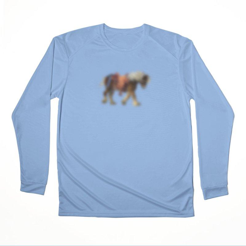 Panasonic Pony of Hope Men's Performance Longsleeve T-Shirt by Vegetable Police