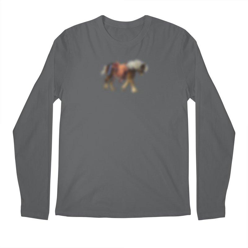 Panasonic Pony of Hope Men's Longsleeve T-Shirt by Vegetable Conspiracies