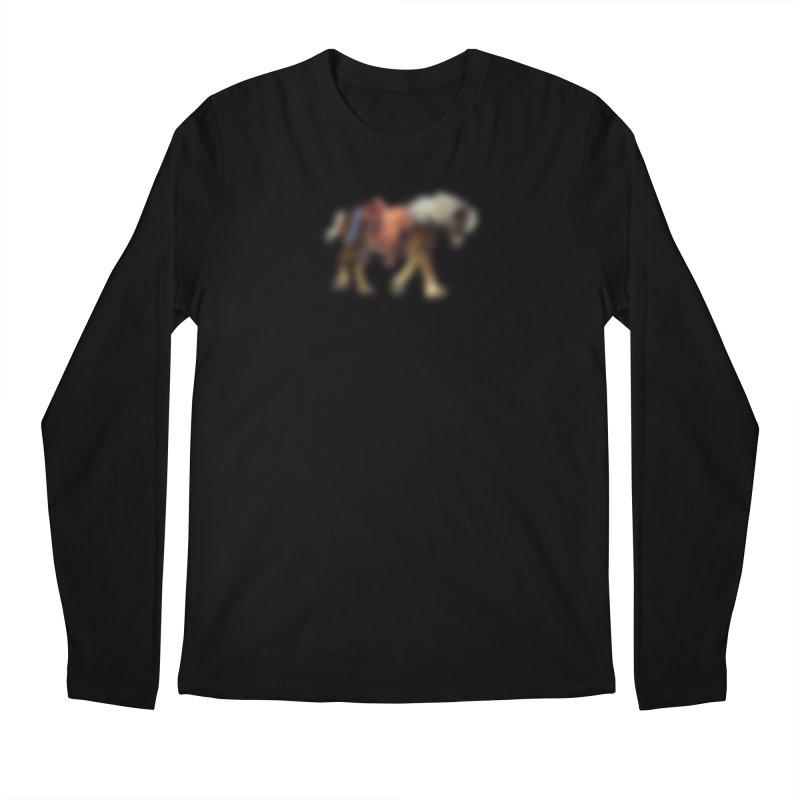 Panasonic Pony of Hope Men's Regular Longsleeve T-Shirt by Vegetable Police