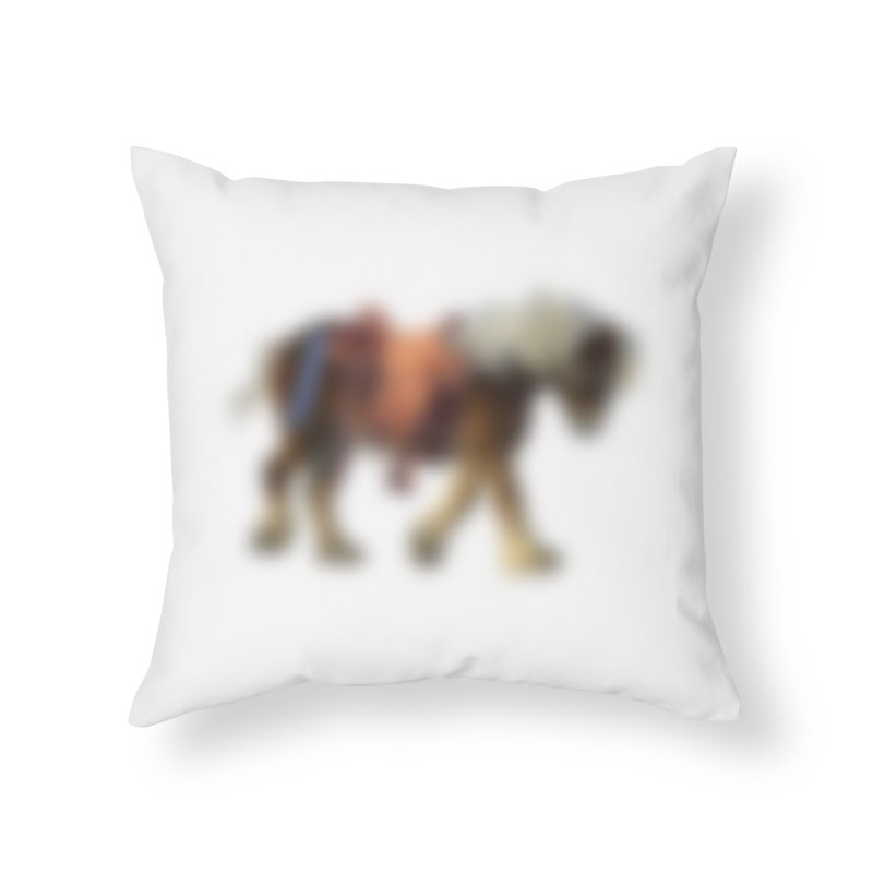 Panasonic Pony of Hope Home Throw Pillow by Vegetable Conspiracies