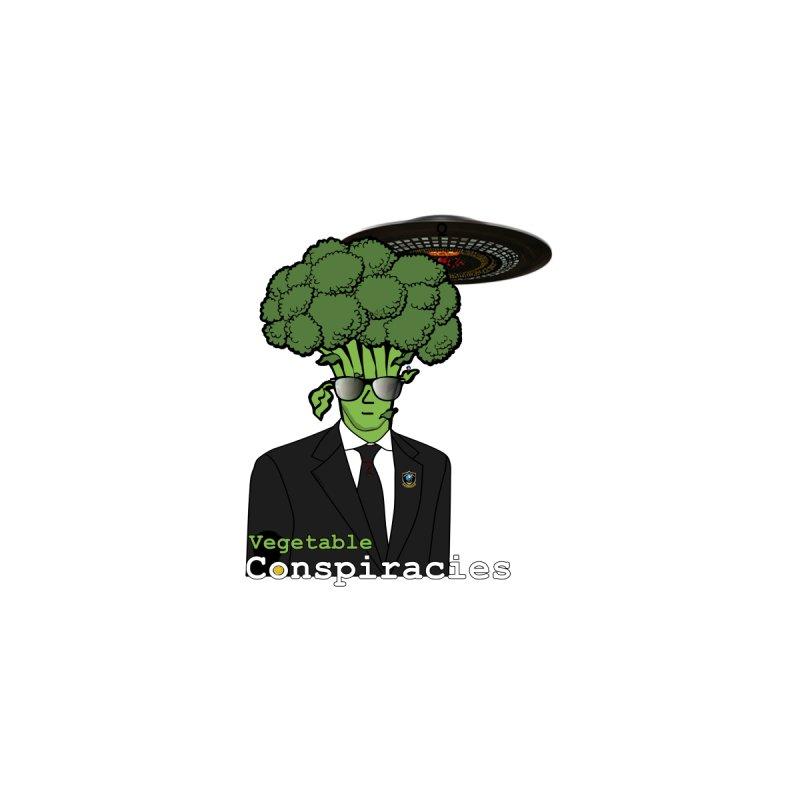Vegetable Conspiracies (Centered) Men's T-Shirt by Vegetable Conspiracies