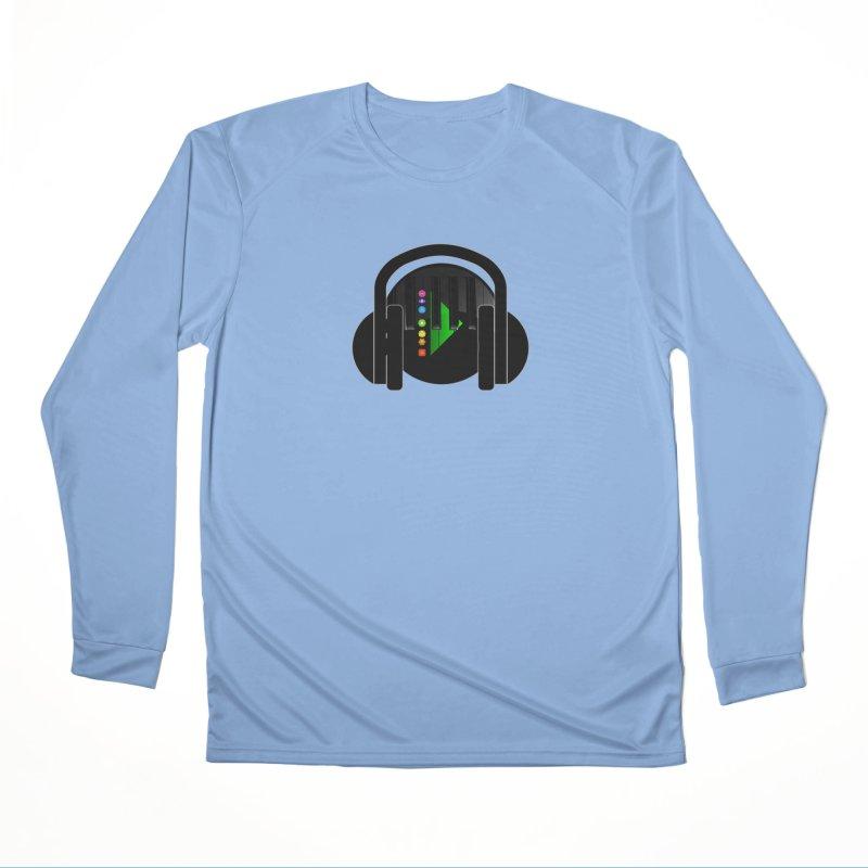 Stern Beats Men's Longsleeve T-Shirt by Vegetable Conspiracies