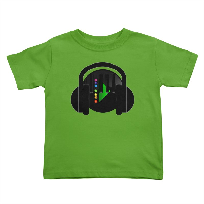 Stern Beats Kids Toddler T-Shirt by Vegetable Conspiracies