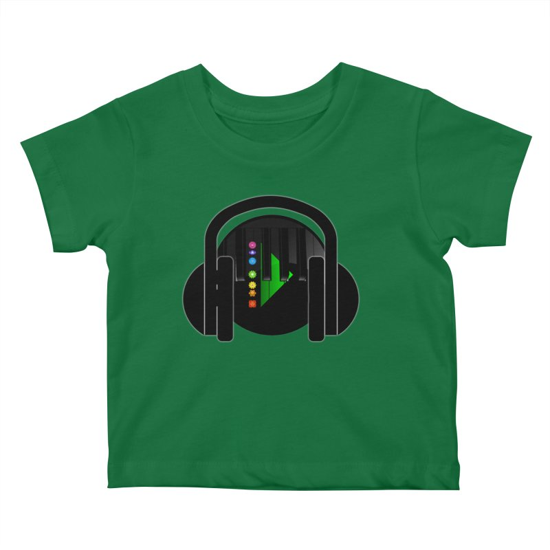 Stern Beats Kids Baby T-Shirt by Vegetable Conspiracies