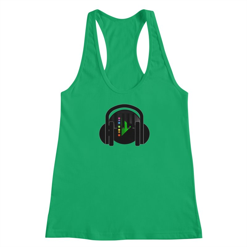 Stern Beats Women's Tank by Vegetable Conspiracies