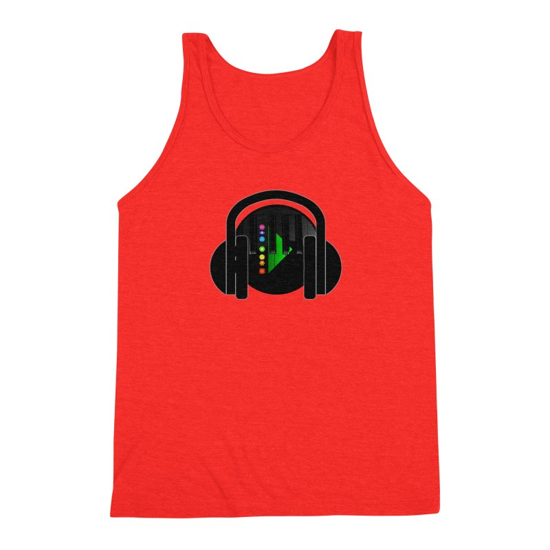 Stern Beats Men's Tank by Vegetable Conspiracies
