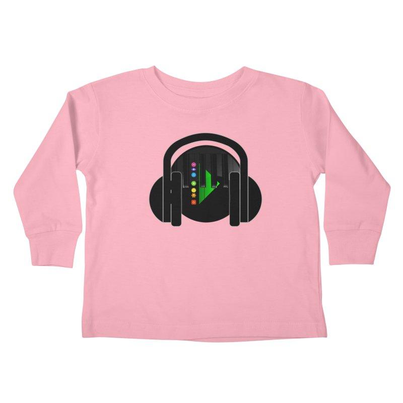 Stern Beats Kids Toddler Longsleeve T-Shirt by Vegetable Conspiracies