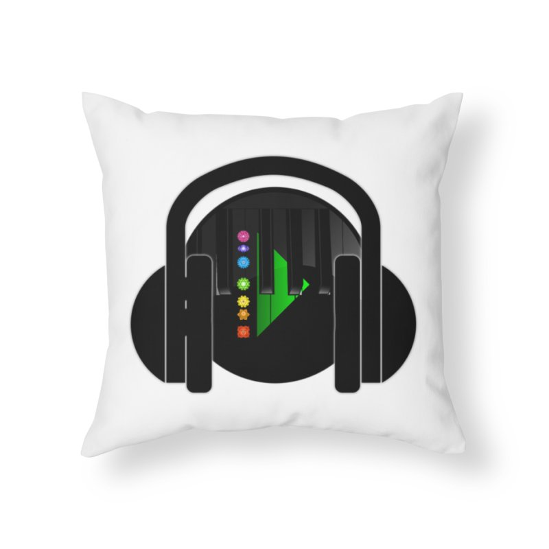 Stern Beats Home Throw Pillow by Vegetable Conspiracies