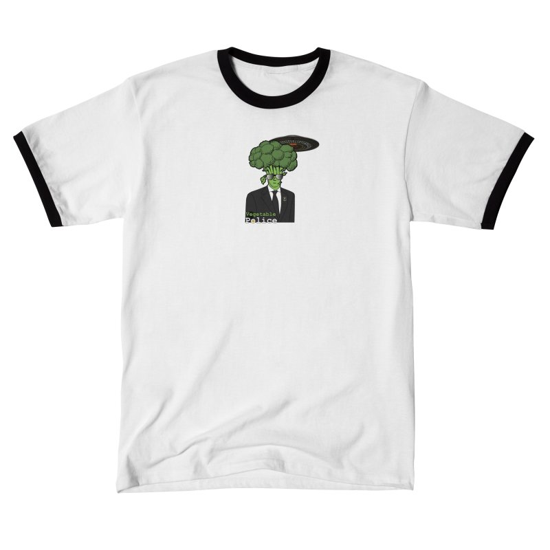 Vegetable Police (Broccoli Cop) Men's T-Shirt by Vegetable Conspiracies