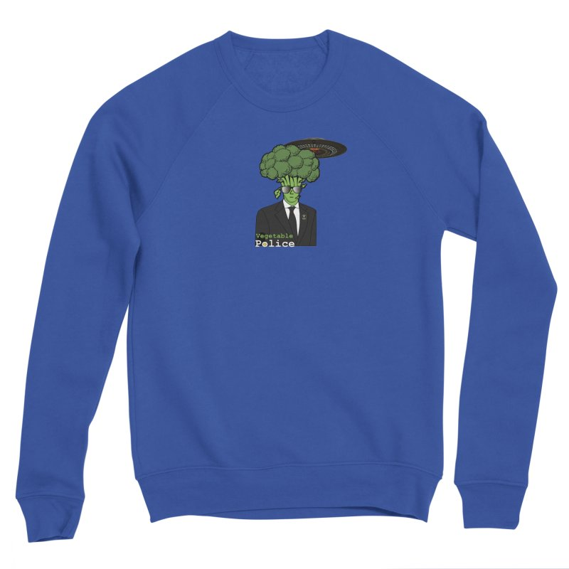Vegetable Police (Broccoli Cop) Women's Sweatshirt by Vegetable Conspiracies