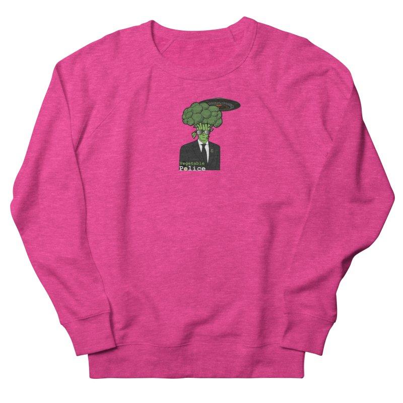 Vegetable Police (Broccoli Cop) Women's Sweatshirt by Vegetable Conspiracies